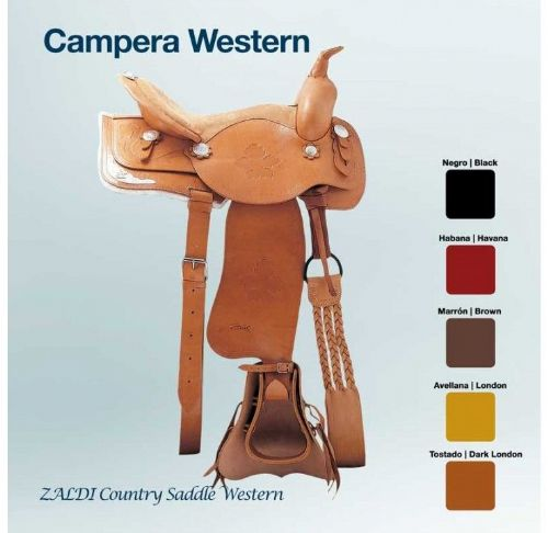 Zaldi Campera Western saddle